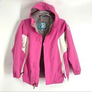 Burton Girls Medium Pink Ski Snow Winter Jacket
